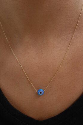 Fiyonk Kuyumculuk - Opal Taşlı Nazarlık