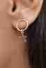 Fiyonk Kuyumculuk - Yıldız Sallantılı Altın Küpe